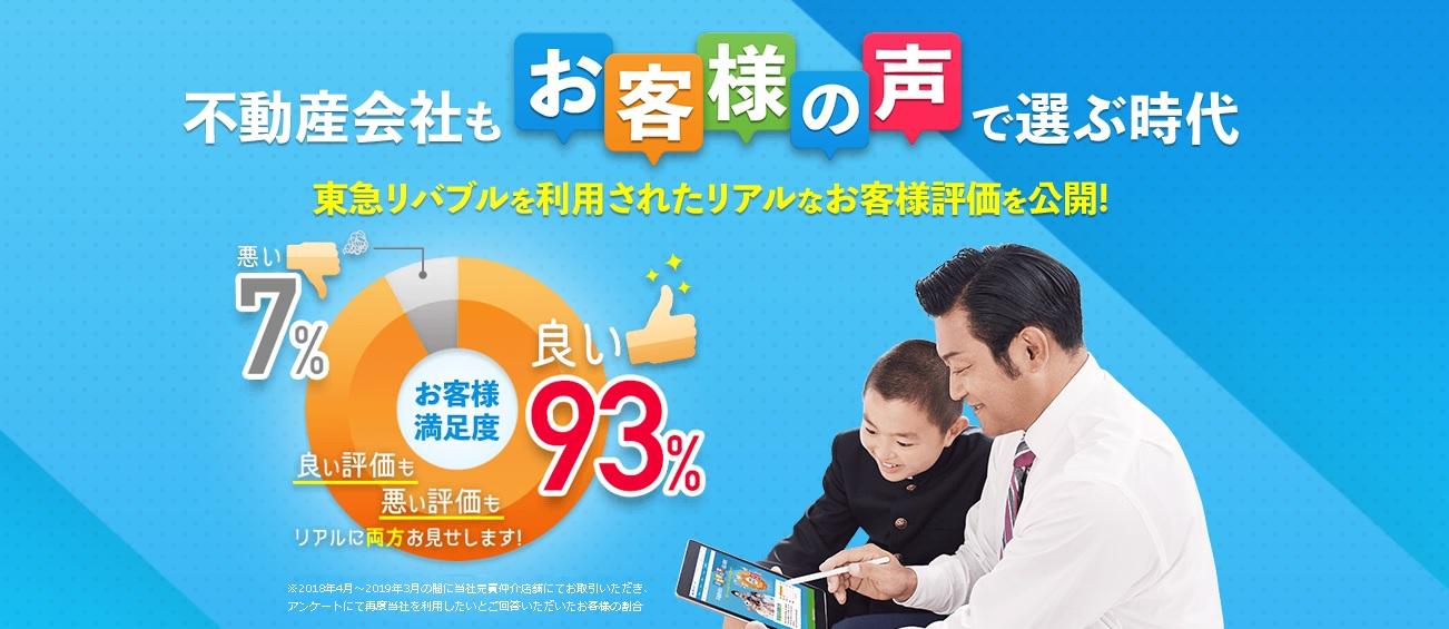 東急リバブル口コミ・評判トップ